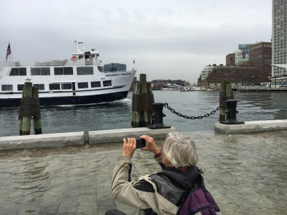Sharing photos on social media is one way for citizens to raise awareness of how cities like Boston are being affected by rising sea levels. Local organizations like Boston Harbor Now are working to develop climate resilience plans that incorporate citizen engagement.